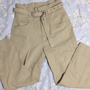 Gap High Rise Belted Pants